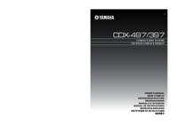To view the document Yamaha CDX-497 User Manual