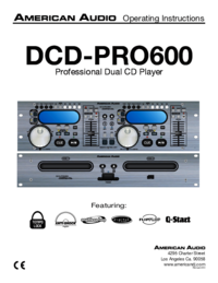 To view the document American-audio DCD-PRO600 User Manual