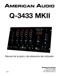To view the document American-audio Q-3433 MKII User Manual