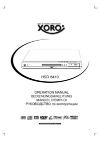 To view the document Xoro HSD 8410 User Manual