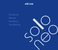 To view the document Arcam Solo Neo User Manual