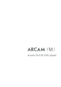 To view the document Arcam FMJ DV139 User Manual