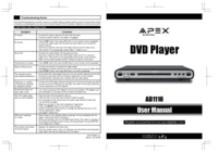 To view the document Apex-digital AD1118 User Manual