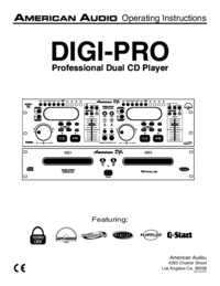 To view the document American-audio DIGI-PRO User Manual