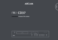 To view the document Arcam FMJ CD37 User Manual