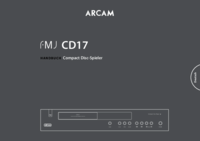 To view the document Arcam FMJ CD17 User Manual