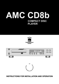 To view the document Amc CD8b User Manual