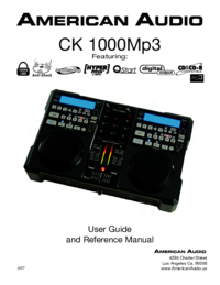 To view the document American-audio CK 1000Mp3 User Manual