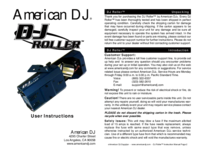 To view the document American-dj DJ Roller User Manual