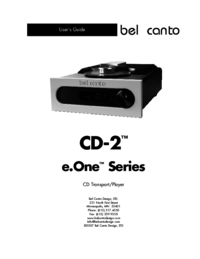 To view the document Bel-canto-design CD-2 User Manual
