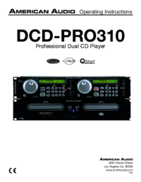 To view the document American-audio DCD-PRO310 User Manual