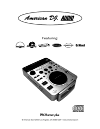 To view the document American-audio Pro Scratch 1 User Manual