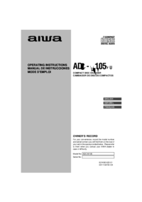 To view the document Aiwa ADC-M105 User Manual