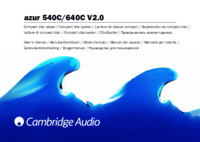 To view the document Cambridge-audio 540C User Manual