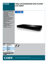 To view the document Coby-electronic DVD288 User Manual
