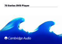 To view the document Cambridge-audio 70 User Manual