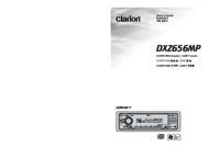 To view the document Clarion DXZ656MP User Manual