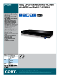 To view the document Coby-electronic DVD298 User Manual