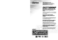 To view the document Clarion dxz738rmp User Manual