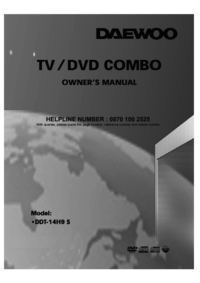 To view the document Daewoo DDT-14H9 S User Manual