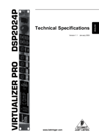 To view the document Behringer Virtualizer Pro DSP2024P User Manual