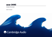 To view the document Cambridge-audio Azur 340C User Manual