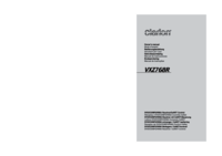 To view the document Clarion VXZ768R User Manual