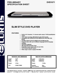 To view the document Curtis DVD1071 User Manual