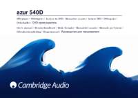 To view the document Cambridge-audio 540D User Manual