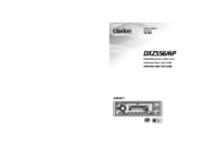 To view the document Clarion DXZ556MP User Manual