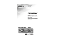 To view the document Clarion DXZ845MC User Manual