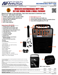 To view the document Amplivox S2031 User Manual