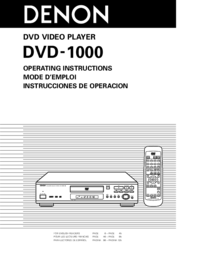 To view the document Denon DVD-1000 User Manual