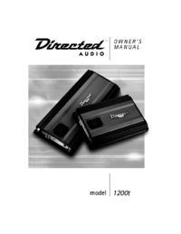 To view the document Directed-audio 1200T User Manual