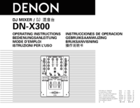 To view the document Denon DN-X300 User Manual