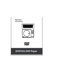 To view the document Dolby-laboratories DVD7016 User Manual