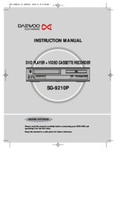 To view the document Daewoo SG-9210P User Manual