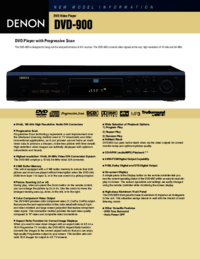To view the document Denon DVD-900 User Manual