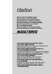 To view the document Clarion MAX678RVD User Manual