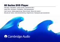 To view the document Cambridge-audio 80 Series User Manual
