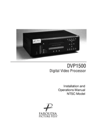 To view the document Meridian-audio DVP1500 User Manual