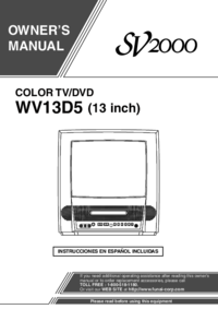 To view the document Funai WV13D5 User Manual
