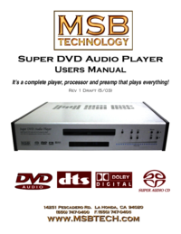 To view the document Msb-technology DVD Audio Player User Manual