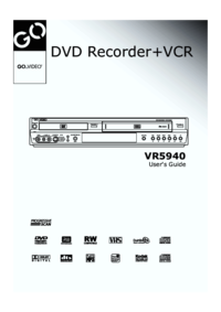 To view the document Govideo VR5940 User Manual