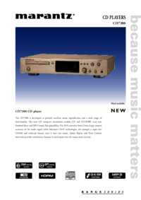 To view the document Marantz CD7300 User Manual