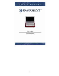 To view the document Element-electronics PDZ-081E User Manual