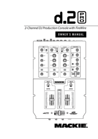 To view the document Mackie DJ Mixer User Manual
