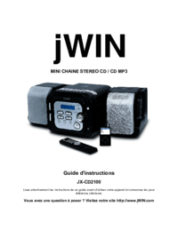 To view the document Jwin JX-CD2100 User Manual