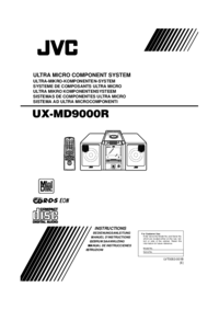 To view the document Jvc UX-MD9000R User Manual