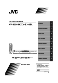 To view the document Jvc XV-S300BK User Manual